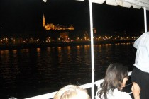 Croaziera pe Dunare, noaptea, la Budapesta