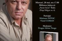 Jurnalistul si scriitorul Rasvan Popescu la Serile Culturale Brailene