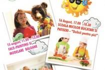 Galeria Arcade Galati: Aici e lumea ta, eveniment dedicat copiilor în weekendul 15-17 august 2014