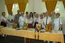 Lansare de carte, expozitie de icoane, carte si fotografii la Cercul Militar Braila