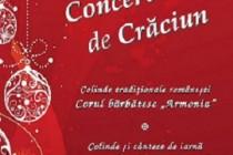 Concert de colinde si cântece de iarna la Casa memoriala Goanga din Braila