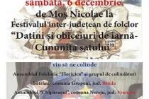 """Festivalul inter-judetean de folclor """"Datini si obiceiuri de iarna - Cununita satului"""", Liesti"""