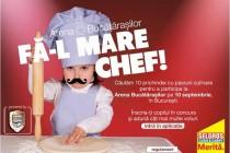 Selgros: Au început preselecţiile pentru Arena Bucătăraşilor, competiţia culinară dedicată celor mici