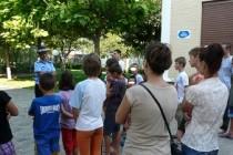 Jandarmii s-au intalnit cu elevii de la fundaţia Surorile Clarise Ale Sfântului Sacrament din Brăila