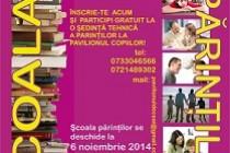 """Scoala parintilor"" la Biblioteca Panait Istrati Braila"