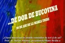 Dor de Bucovina la Casa de Cultură a Municipiului Brăila
