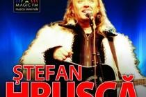 Ştefan Hruşcă va canta la Casa Tineretului in 11 decembrie
