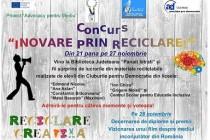 """Concursul """"Inovare prin reciclare"""", la final"""