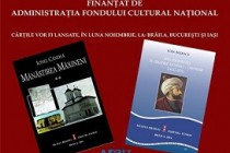 Lansari de carte la Muzeul Brailei, proiect editorial finantat de AFCN