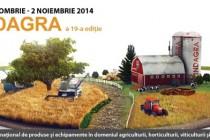 Indagra si alte patru târguri la Romexpo în perioada 29 octombrie-2 noiembrie 2014