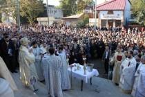 Sfinţirea bisericii cu hramul Sf. Cuvioasă Parascheva din Brăila