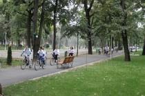 Militarii organizează un concurs de cros în Parcul Monument