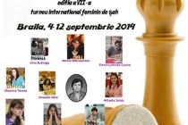Braila: Turneul international de sah feminin Memorialul Maria Albulet