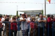Manifestarile de la Tebea 2014, dincolo de garduri, flori si discursuri
