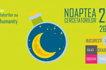 Noaptea cercetatorilor - 26 septembrie 2014
