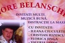 Spectacol aniversar Gore Belanschi, duminica, 7 septembrie a.c.