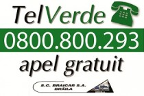 SC Braicar SA Braila are serviciu Tel Verde