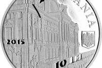 Emisiune numismatică dedicată aniversării a 135 de ani de la înfiinţarea BNR