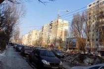 Tamponare ușoară pe strada Tudor Vladimirescu