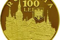 Emisiune numismatică dedicată împlinirii a 140 de ani de la punerea pietrei de temelie a Castelului Peleș din Sinaia
