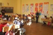 Activități preventiv-educative desfășurate de jandarmii brăileni în școlile din județ