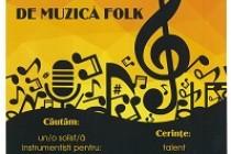 """Selecție pentru formația folk a Bibliotecii """"Panait Istrati"""" Brăila"""