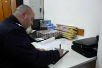 Articole pirotehnice confiscate de polițiștii brăileni