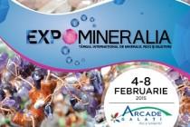 Galeria Arcade Galati: Târg international de minerale, roci si bijuterii, 4-8 februarie 2015