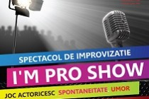 Social Act Theatre - Invitatie la spectacolul de improvizatie I'm pro show