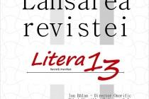 Lansarea revistei Litera 13