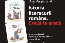Costel Pătrăşcan - Istoria literaturii române. Erată la erată