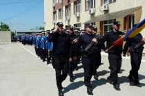 Ceremonial militar de acordare a drapelului de lupta Inspectoratului de Jandarmi Judeţean Brăila