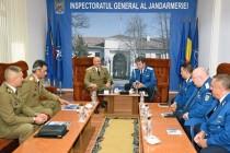 Jandarmeria Română şi Statul Major al Forţelor Terestre (MApN) cooperează în domeniul formării continue a personalului