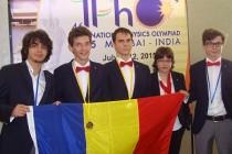 Medalii pentru elevii olimpici români
