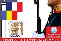 Festivalul international al muzicilor militare, editia a XII-a, Braila, 19-22 iunie 2015