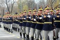 """Participanti la festivalul muzicilor militare: Muzica Militară a Regimentului 30 Gardă """"Mihai Viteazul"""""""