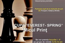 "Sah: Cupa ""Everest-Spring"" Micul Prinț, Braila"