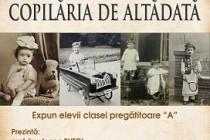 Copilăria de altădată, expoziție de fotografie la Biblioteca Județeană Brăila