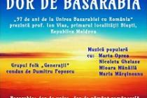 Dor de Basarabia, eveniment cultural-artistic la Casa Petre Ştefănescu-Goangă