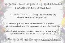 """Vernisarea expozitiei """"Femeia - arta si poezie"""" la Cercul Militar Braila"""