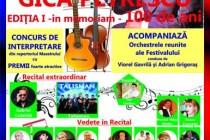 """Festivalul Național """"Gica Petrescu"""", prima editie, 4-6 mai 2015"""