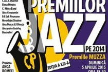 Gala Premiilor jazz - Premiile MUZZA pe 2014, Bucuresti, 5 aprilie 2015
