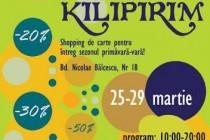 Kilipirim, ediția de primăvară 2015, a târgului de carte cu discount