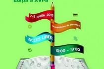 Târgul Educatiei, editia a XVI-a, Bucuresti, 7-8 aprilie 2015