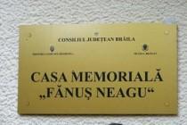 """Redeschiderea casei memoriale """"Fanus Neagu"""" din comuna Gradistea"""