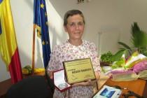 Scriitoarea Magdalena Iugulescu devine cetățean de onoare al comunei Berzunți