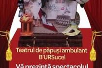 Teatru de păpuși la Ludoteca din cadrul Bibliotecii județene Brăila