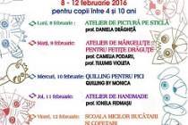 Club de vacanță la Biblioteca Județeană Brăila, 8-12 februarie 2016