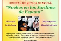 In palatul  Lyra un recital de exceptie - Noches en los Jardines de Espana