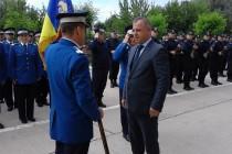Colonelul Vasile Silion preda comanda Jandarmeriei Braila